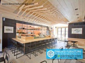 Jasa Interior Furniture Restorant di Tangerang